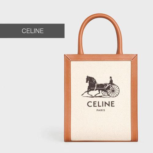 【CELINE】スーパーコピーミニ バーティカル CELINE カバ / サルキープリント 193302DCI.02NT