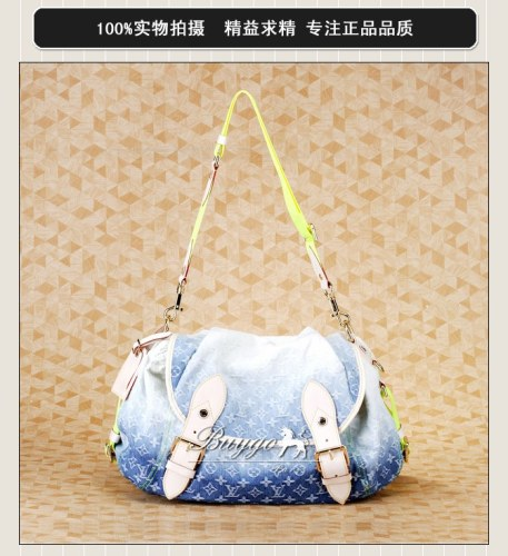 ルイヴィトン バッグ スーパーコピールイ・ヴィトン コレクションライン サンライズ ブルー M93189