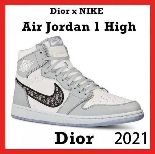 人気話題コラボ★激レアコラボ☆ナイキコラボ Dior Air Jordan 1 Retro high OG スニーカー 偽物