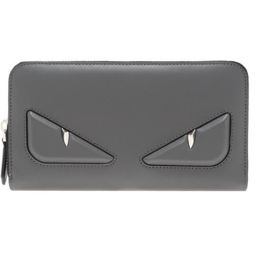FENDI フェンディ モンスター 財布 コピー バグス 7M0210 グレー