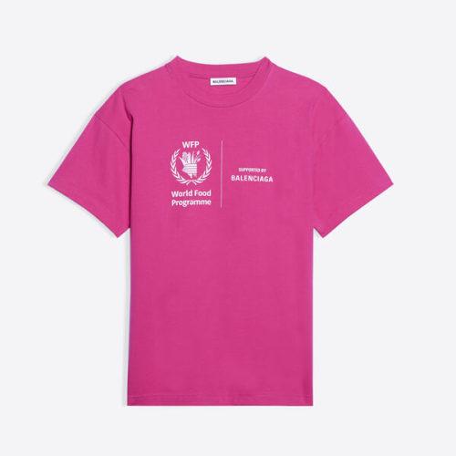 バレンシアガ tシャツ 偽物 BALENCIAGA 新作★WFPミディアムTシャツ 素材構成:綿100%