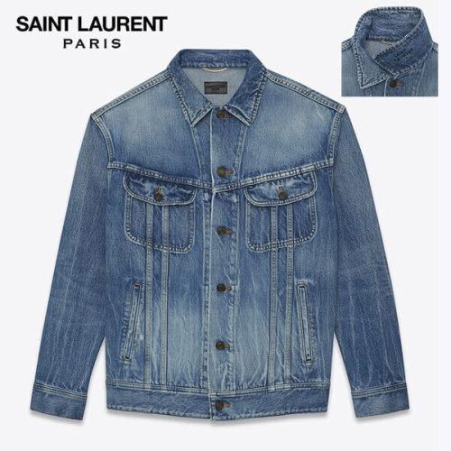 サンローラン オーバーサイズジーンズジャケット コピー オーバーサイズジーンズジャケット 500375YA8834760