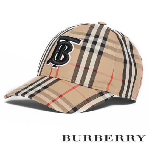 BURBERRY バーバリー キャップ コピー Vintage check baseball cap