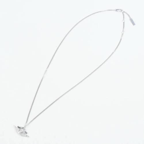 """ナイキ ディオール ネックレス Dior Jordan Air Dior Wings Pendant Necklace """"Silver"""""""