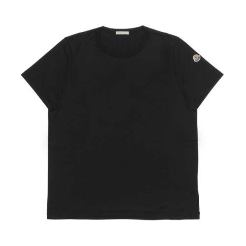 モンクレール MONCLER Tシャツ コピー レディース 8083400 8390X 999 半袖Tシャツ BLACK ブラック