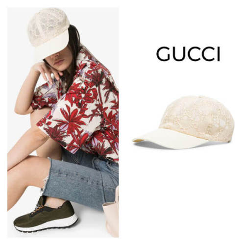 GUCCI グッチ キャップ コピー Embroidered Baseball Cap GG キャップ 579155 3HH87