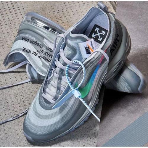 オフ ホワイト ナイキ エアマックス スニーカー コピー Off-White Nike Air Max 97 Menta オフホワイト エアマックス97 AJ4585-101