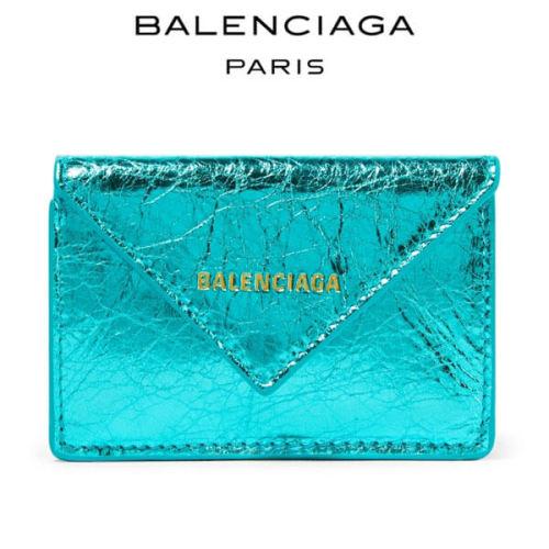 バレンシアガ ミニ財布 コピー BALENCIAGA Papier三つ折りミニ財布