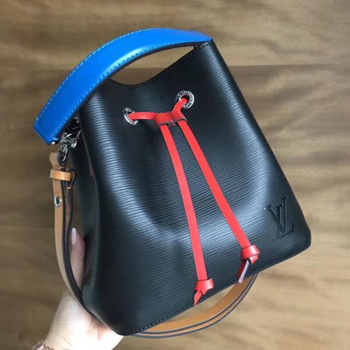 ルイヴィトン ショルダーバッグ スーパーコピー Louis Vuitton ネオノエ BB エピ ブラック M52853