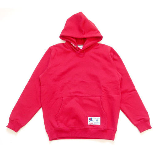 supreme champion 偽物 シュプリーム ボックス ロゴ パーカー Hooded Sweatshirtチャンピオン赤