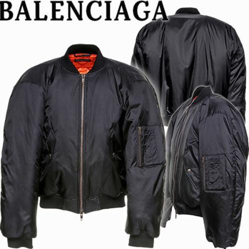 BALENCIAGA Steroid ナイロン ダブルジップ ボンバー ジャケット偽物