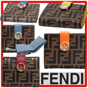 F is Fendi☆スーパーコピー二つ折り財布 じゃばらカードケース 8M0386AAIIF1B13