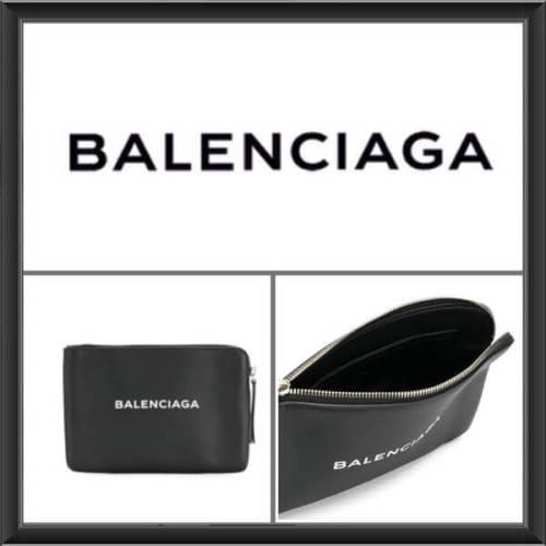 BALENCIAGA バレンシアガスーパーコピー プリントテクスチャ加工ポーチ