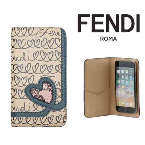 フェンディiPhoneXS ケース コピー FENDI手帳型iPhoneX XSケース!オープンユアハート