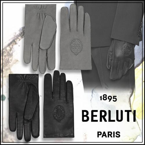 新作☆【Berluti/ベルルッティ】Gants En Cuir レザーグローブ コピー G0015