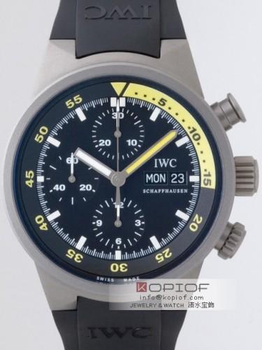 IWC アクアタイマー スーパーコピーIW371918 クロノグラフ ラバー ブラック