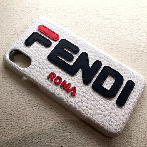 フェンディiPhoneXS ケース コピー FENDI マニアロゴ iPhone X iPhone Xsケース 2019SS