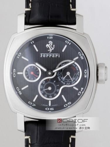 パネライ フェラーリ スーパーコピーパーペチュアルカレンダー FER00015 45mm ブラック