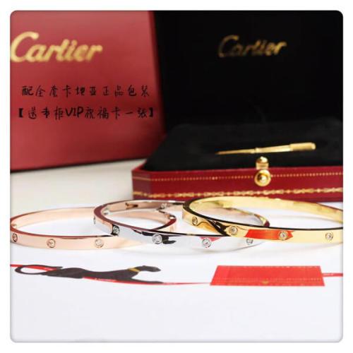 カルティエ ブレスレット コピー CARTIER ラブブレス LOVE10ブレスレットB6040516/YELLOWゴールド ダイヤ