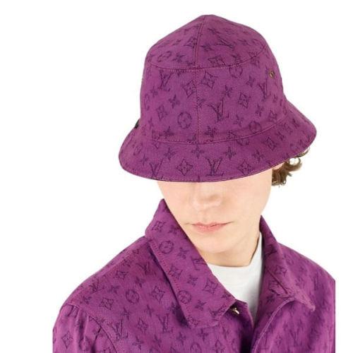 LOUIS VUITTON ルイヴィトン キャップ コピー モノグラムデニム/リバーシブル帽子 MP2440