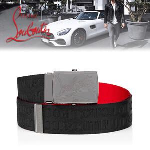 ◆Christian Louboutin◆ルブタン スーパー コピー ベルト◆Ceinture Ricky Plate ベルト 3205125B078