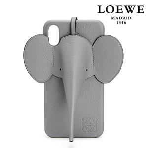 【LOEWE ロエベ iPhoneケース コピー】エレファント Elephant ガンメタル C719C80X032