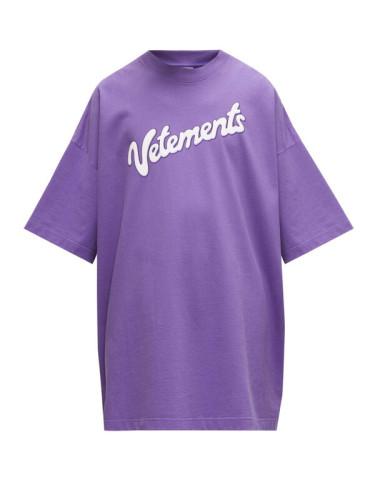 ヴェトモン tシャツ 偽物 VETEMENTS ミルク Milk ロゴ Tシャツ プリント クルーネック