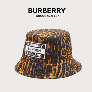 BURBERRY バーバリー キャップ コピー レオパード バケットハット