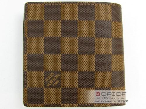 ルイヴィトン ダミエ スーパーコピー二つ折財布 N61675