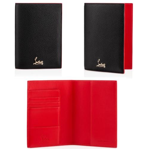ルブタンLoubipass パスポートケースホルダー旅行 パスポートケース ウォレット 1185071CM6Sルブタン コピー
