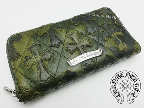 クロムハーツ 財布 コピーREC F ZIP2 セメタリーキルテッド