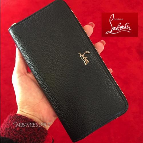 18SS 新作 ルブタン Panettone Wallet 黒 シンプル 1185061CM6Sルブタン 財布 コピー