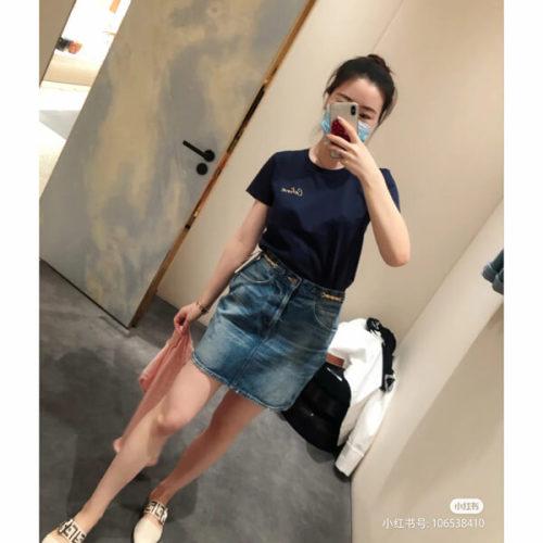 CELINE セリーヌ 偽物 Tシャツ エンブロイダリー コットンジャージー 2カラー 2X351501F.25PQ2