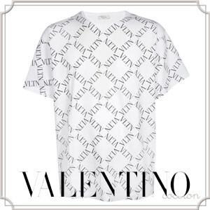 [VALENTINO] VLTN VALENTINO ヴァレンティノ Tシャツ コピー プリント