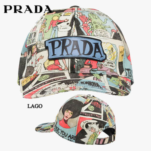 プラダ キャップスーパーコピーPRADA 帽子 1HC274_2BZZ_F0D30