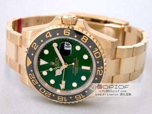 ロレックス GMTマスターII スーパーコピー116718LN グリーン