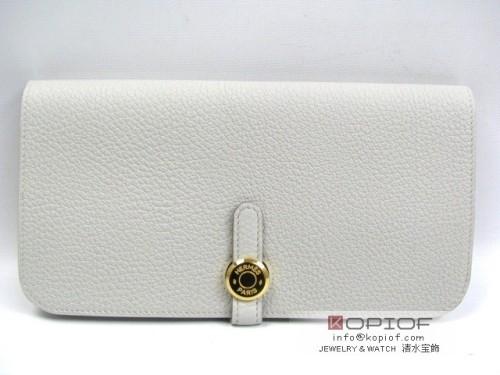 エルメス ドゴン スーパーコピーニュードゴン 長財布 トゴ/グレーパール(金具:ゴールド) hr214