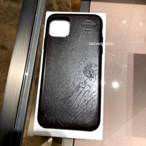 ベルルッティ iphoneケース コピー iPhone11 Pro ケース カリグラフィ ロゴ