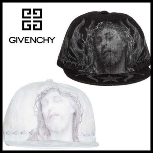ジバンシィ 帽子コピー JESUS CHRIST ベースボール キャップ ブラック