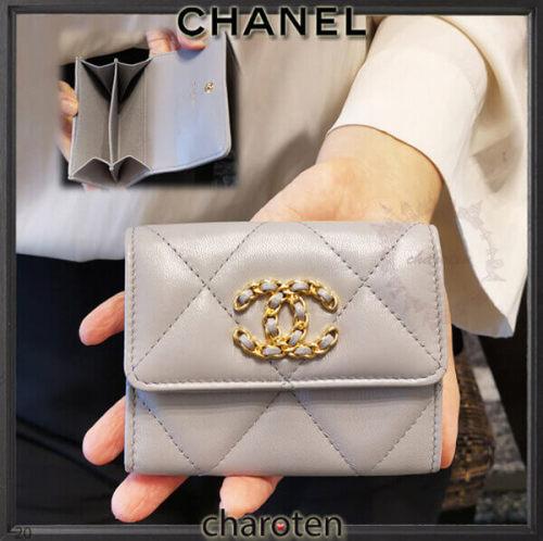 CHANEL19♡コピー小バッグに♪カード/コインケース 51216375