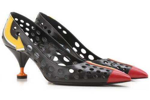 プラダ シューズ コピー レディースシューズ/女性 靴 PRADA パンプス レザー