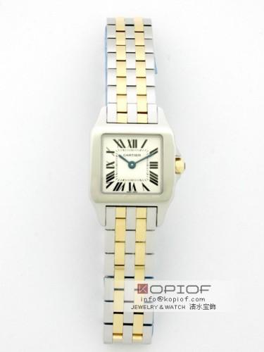 カルティエ サントスドゥモワゼル スーパーコピーW250666 SG SM ホワイト