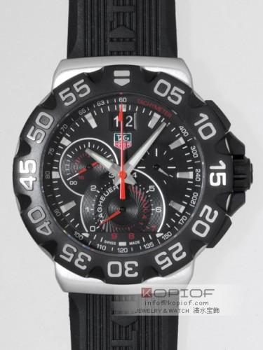 タグホイヤー フォーミュラー1 スーパーコピーCAH1010.FT6026 クロノグラフ グランドデイト ラバー ブラック
