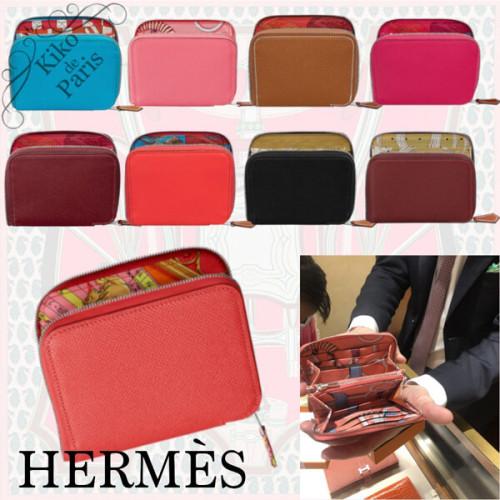 本場パリよりHERMES コピーパリ 憧れの シルクインコンパクト ミニ財布」をお客様のお手元にお届けいたしまH064959CKAD
