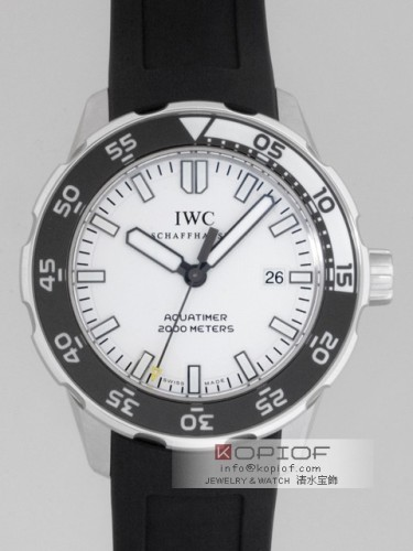 IWC アクアタイマー スーパーコピーIW356811 オートマッチック2000 ラバー ツヤ消ベゼル ホワイト