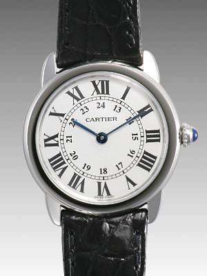 カルティエ ロンド スーパーコピーW6700155 SS SM ホワイト