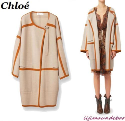 Chloe ブランケットコート ルーズ 16AMM01-16A635-04V クロエ 服 レディース スーパーコピー