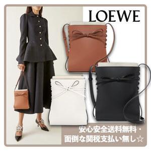 【大特価】LOEWE イケバナカーフスキンバッグコピーA858I01X01☆送関込