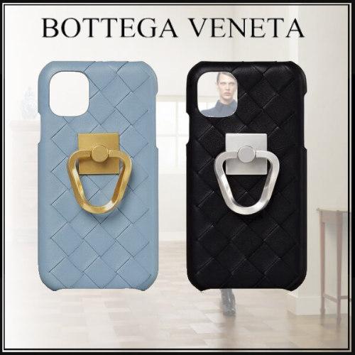 ボッテガヴェネタ iphoneケース コピー イントレチャートレザー iPhoneXIケース