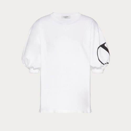 【ヴァレンティノ ロゴTシャツ コピー】Vロゴ ジャージースタンパ Tシャツ TB0MG05T5F80VP